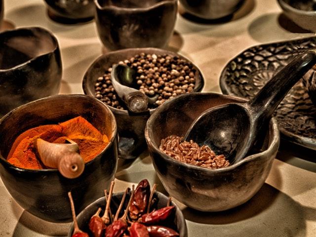 Kryddor är bra för hälsan